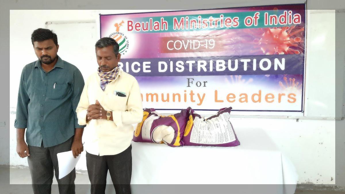 covid 19 rice distribution