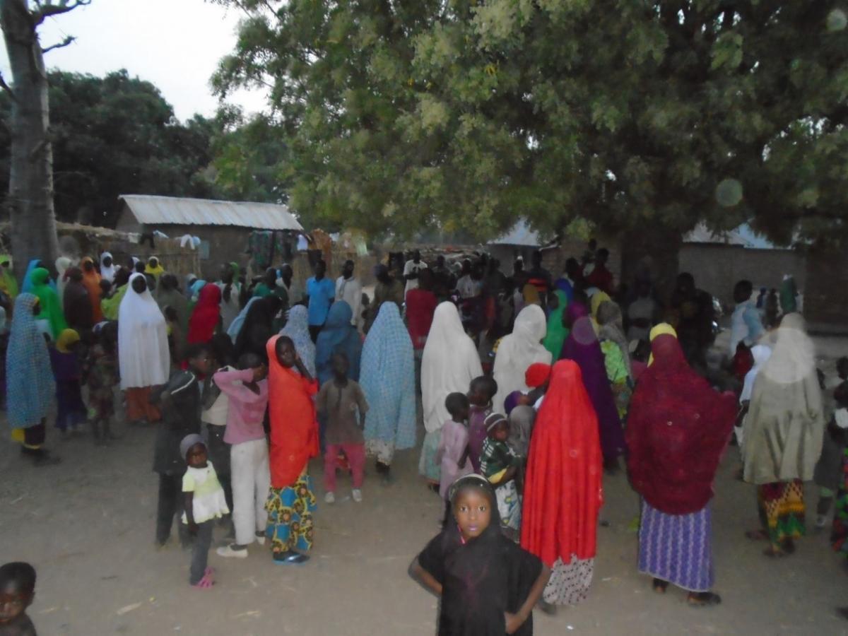 covid food distribution nigeria
